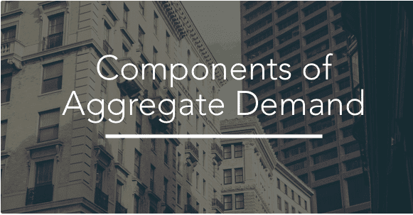 Components of Aggregate Demand Curve