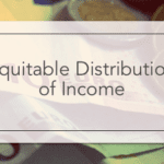 Equitable Distribution of Income
