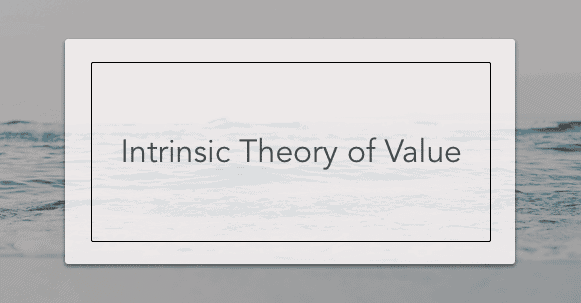 intrinsic theory of value