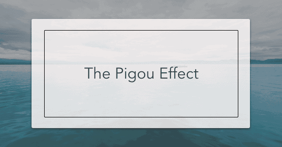 the pigou effect