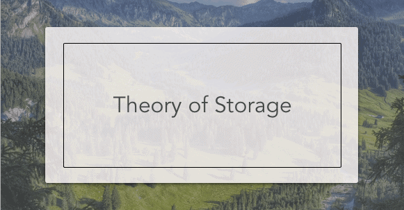 theory of storage