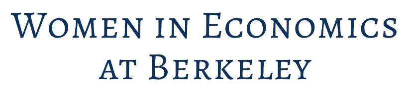 women in economics at berkeley
