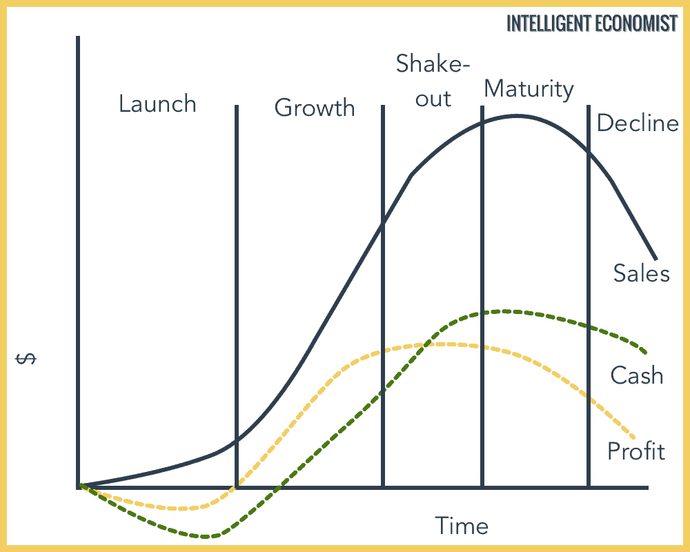 Business Life Cycle Graph
