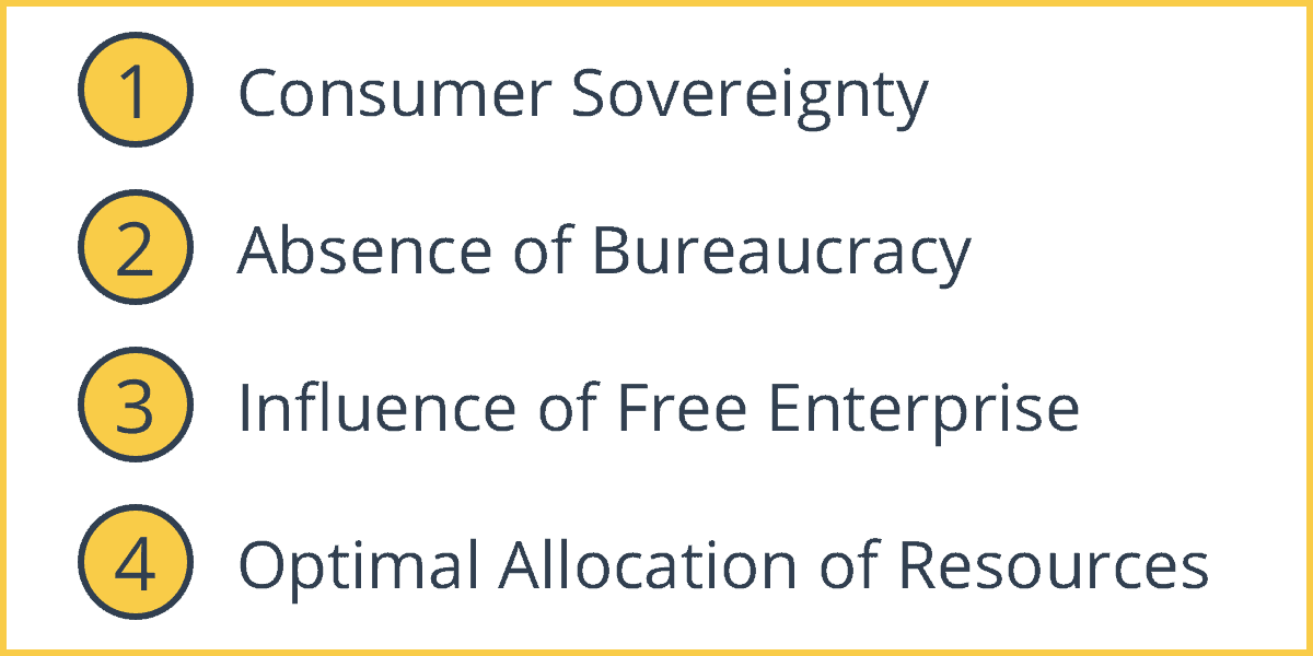 advantages and disadvantages of free market economy pdf