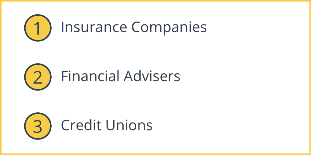 Financial Intermediaries Examples
